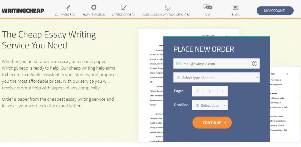 WritingCheap - Review