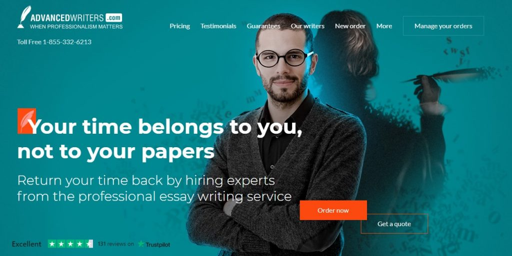 AdvancedWriters Review Main Page