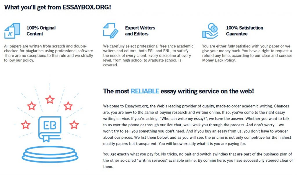 EssayBox Review What Is Essaybox
