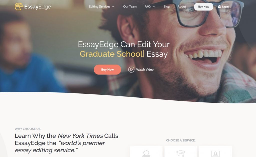 EssayEdge Review Main Page