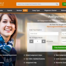 MyAssignmenthelp Review Main Page
